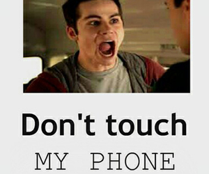 phone and teen wolf image