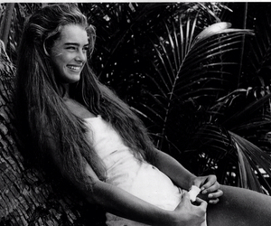 brooke shields, smile, and hair image
