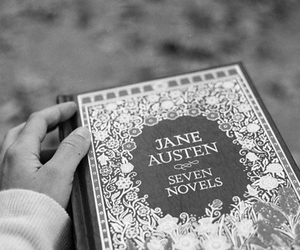 book, jane austen, and blue image