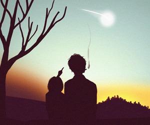 couple, hirunaka no ryuusei, and suzume image