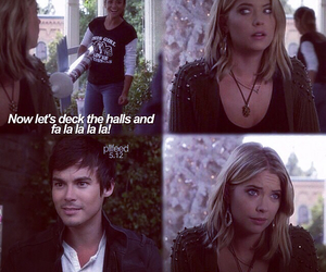 pll, emily, and caleb image