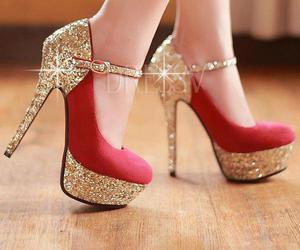 shoes, modafashion, and aguja image