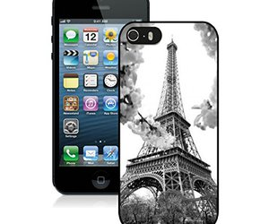 apple, cute, and eiffel tower image