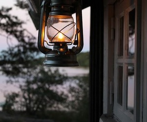 cottage, cozy, and lamp image