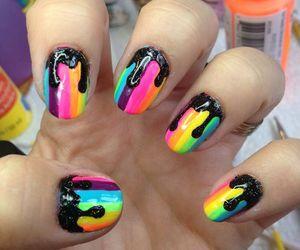 líneas, color, and nails image