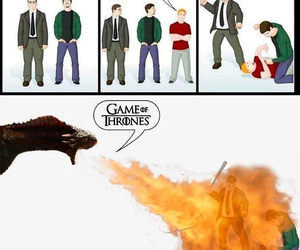 game of thrones, breaking bad, and glee image