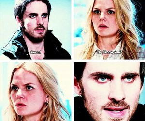 friend, captain hook, and emma swan image