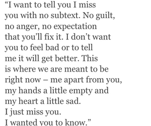 goodbye, i miss you, and i'm sorry image