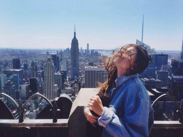 new york city, experience, and girl image