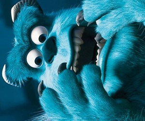 monster, monsters inc, and blue image