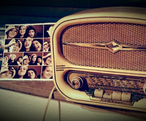 music, old school, and radio image