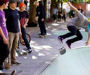 boy, cool, and skate image