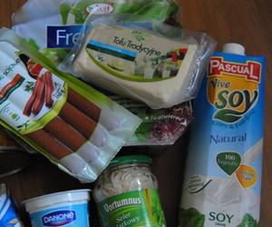 vegan, vegetarian, and soya image