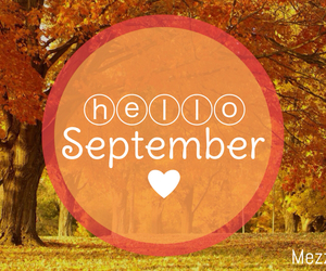 autum, hello, and September image
