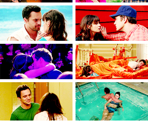 ness, nick miller, and jess day image