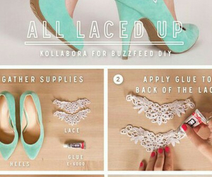 diy, shoes, and cute image