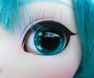 doll, blue eye, and beautiful image