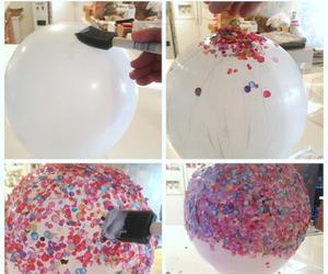 diy, bowl, and confetti image