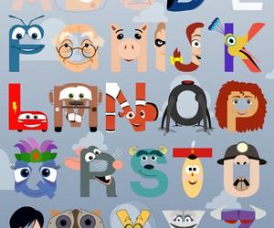 disney, alphabet, and pixar image