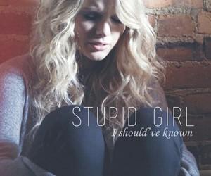 Taylor Swift, white horse, and Lyrics image