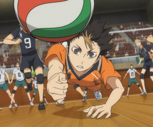 volleyball, love, and datekou image