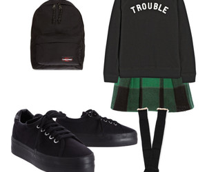 college, outfit, and Polyvore image