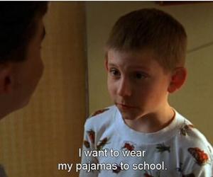 school, pajamas, and funny image