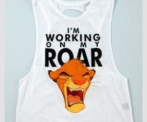 disney, clothes, and roar image