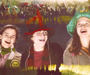 ginny weasley, goblet of fire, and harry potter image