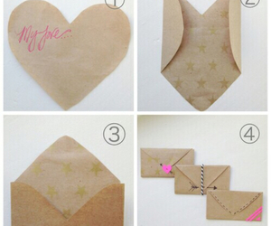 diy, heart, and Letter image