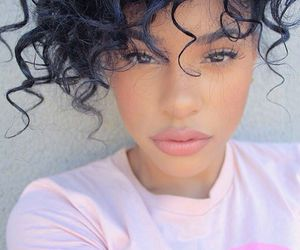 beauty, black woman, and curls image