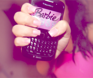 barbie, blackberry, and pink image