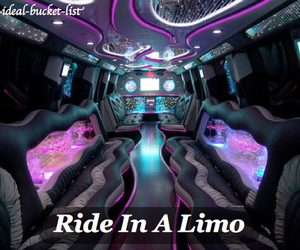 limo, Dream, and love image