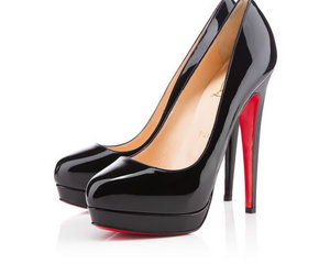 heels, heel shoes, and red bottoms image
