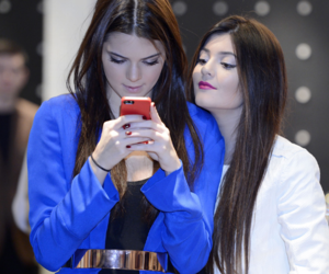 kendall jenner, kylie jenner, and hair image