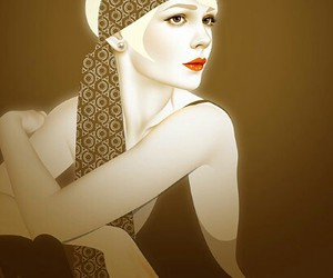 the great gatsby and art image