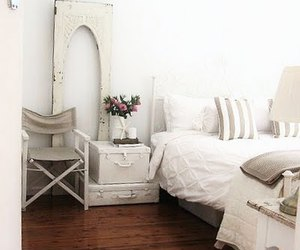 shabby chic, suitcase, and vintage image