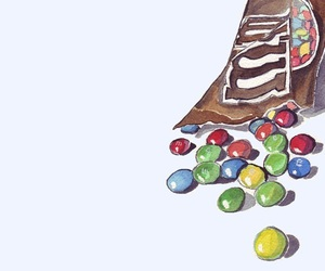 art and m&m's image