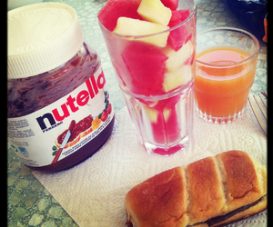 nutella, perfect, and summer image