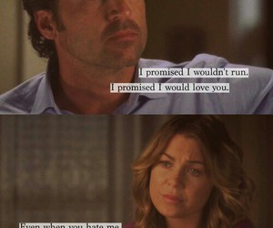meredith grey, patrick dempsey, and grey's anatomy image