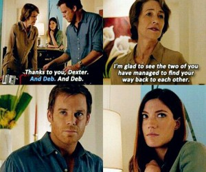dexter morgan, family, and Michael C. Hall image