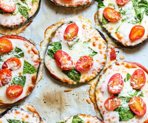 bake, healthy, and mozzarella image