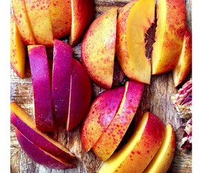 fruit, healthy, and peach image