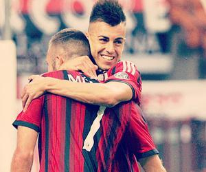 soccer and ac milan image