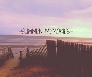 memories, summer, and beach image
