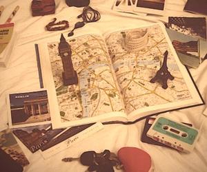 paris, london, and map image