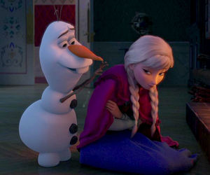 anna, cold, and disney image