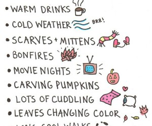 autumn, cozy, and cuddling image
