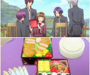 anime, bento, and food image