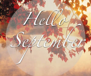 autumn, hello september, and good bye summer image